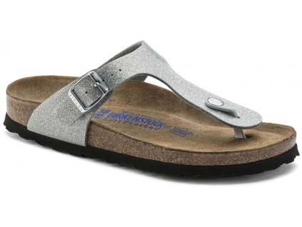 Birkenstock Gizeh - Magic galaxy silver soft