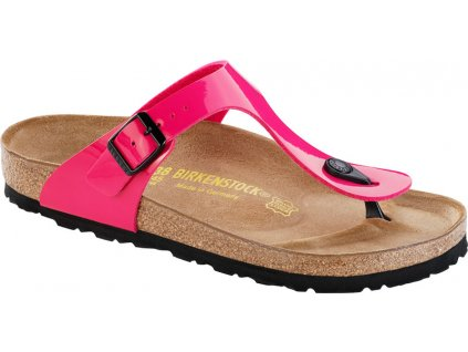 Birkenstock Gizeh - Pink lack