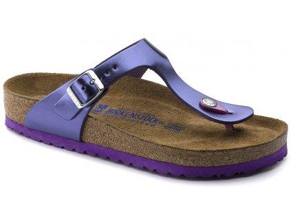 Birkenstock Gizeh - Metallic violet