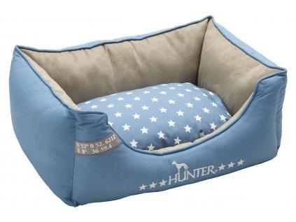 Pelíšek pro psa Hunter Aarhus, modrá