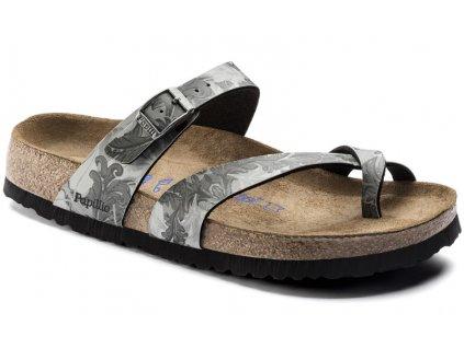 Zdravotní obuv Papillio Tabora Damask Grey, měkká stélka