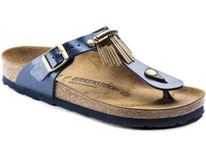 Birkenstock Gizeh Fringe - Graceful sea