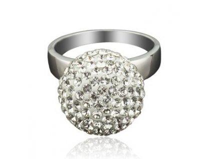 Prsten Swarowski Elements - Ball parts, crystal