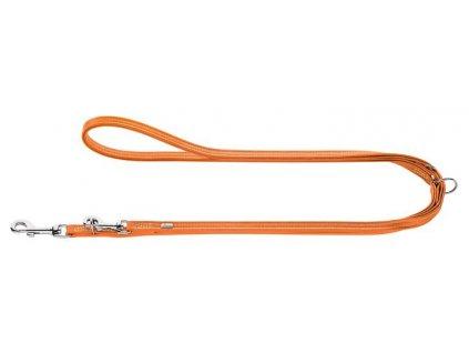 Nastavitelné vodítko Hunter Cannes mini, oranžové