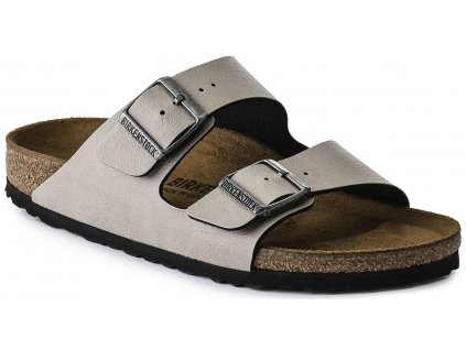 Birkenstock Arizona - Pull up stone / Birko-flor