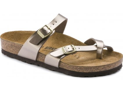 Birkenstock Mayari - Electric Metallic Taupe