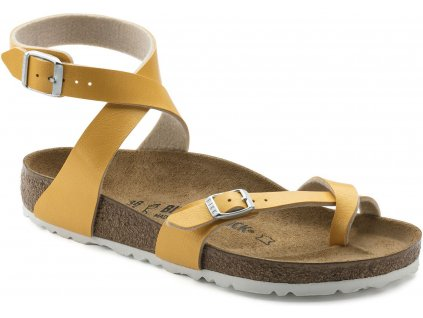 Birkenstock Yara - Graceful Amber Yellow