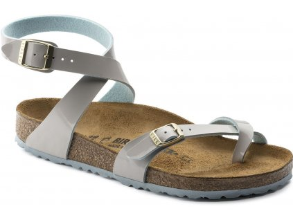 Birkenstock Yara - Two Tone Light Gray