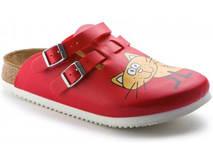 Birkenstock professional Kay SL / Cat red