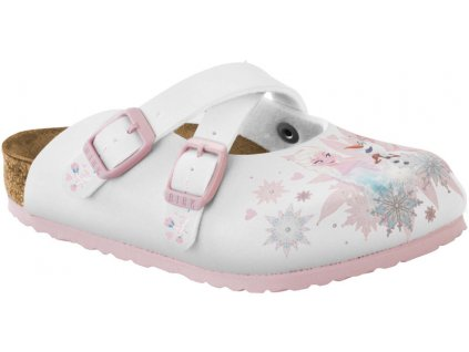 Birkenstock Dorian Frozen Elsa and Olaf White