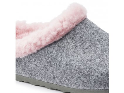 Birkenstock Kaprun - Grey Happy Lamb Pink