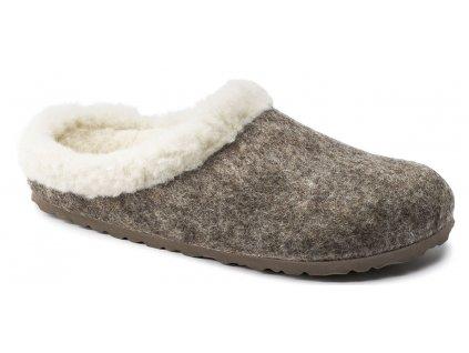 Zdravotní obuv Birkenstock Kaprun - Cocoa Happy Lamb Beige
