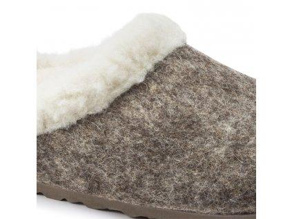 Birkenstock Kaprun - Cocoa Happy Lamb Beige