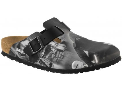 Birkenstock Boston Star Wars - Kyllo Ren Black