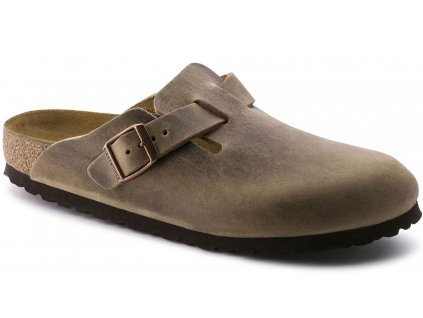 Birkenstock Boston - Tabacco brown