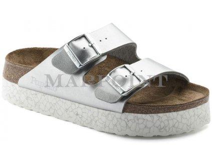 Papillio Arizona Platform - Monochrome Marble Silver