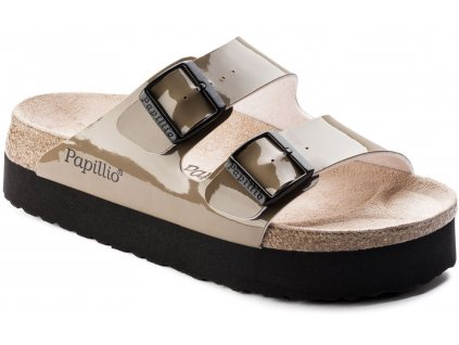 Papillio Arizona Platform - Two-Tone Patent Mud