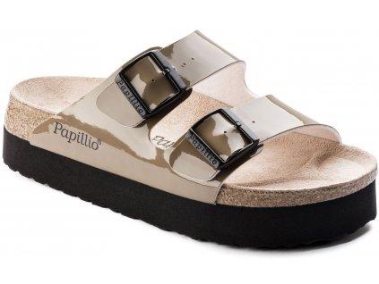 Papillio Arizona Platform - Two-Tone Patent Mud