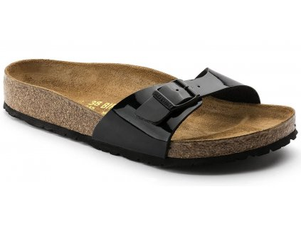 Birkenstock Madrid - Black Lack