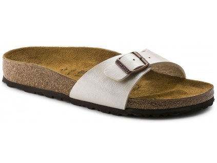 Birkenstock Madrid - Graceful Pearl White