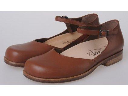 zdravotni obuv footprints venezia maroon hladka kuze velc 36 21500 DetailImage