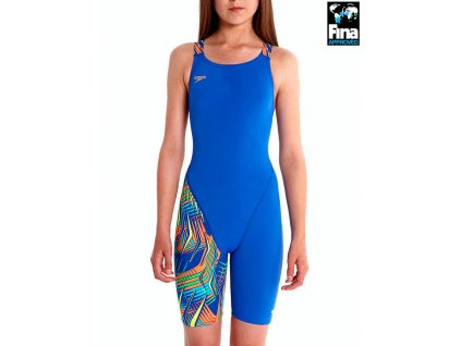 Endurance knee skin blue/red