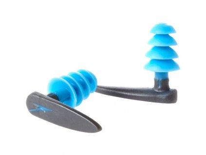 Speedo BioFUSE Aquatic Earplug Ear Plugs Dark Grey Blue 8 004967197