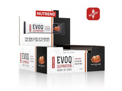 evoq display crunchy salted caramel cz