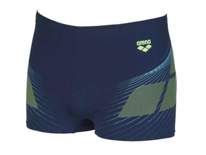 Arena One Poseidon Short Blue