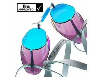 Plavecké brýle skořápky SWE zrcadlové
