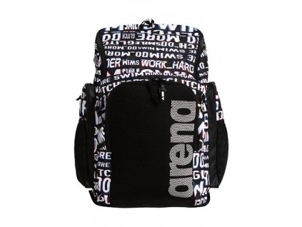 Team Backpack 45 Allover Neon Glitch