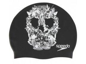 Fantasia Skull Print Cap