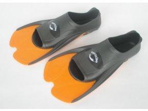 Ploutve plavecké oranžové