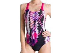 Infinite Stripe Swim Pro Back One