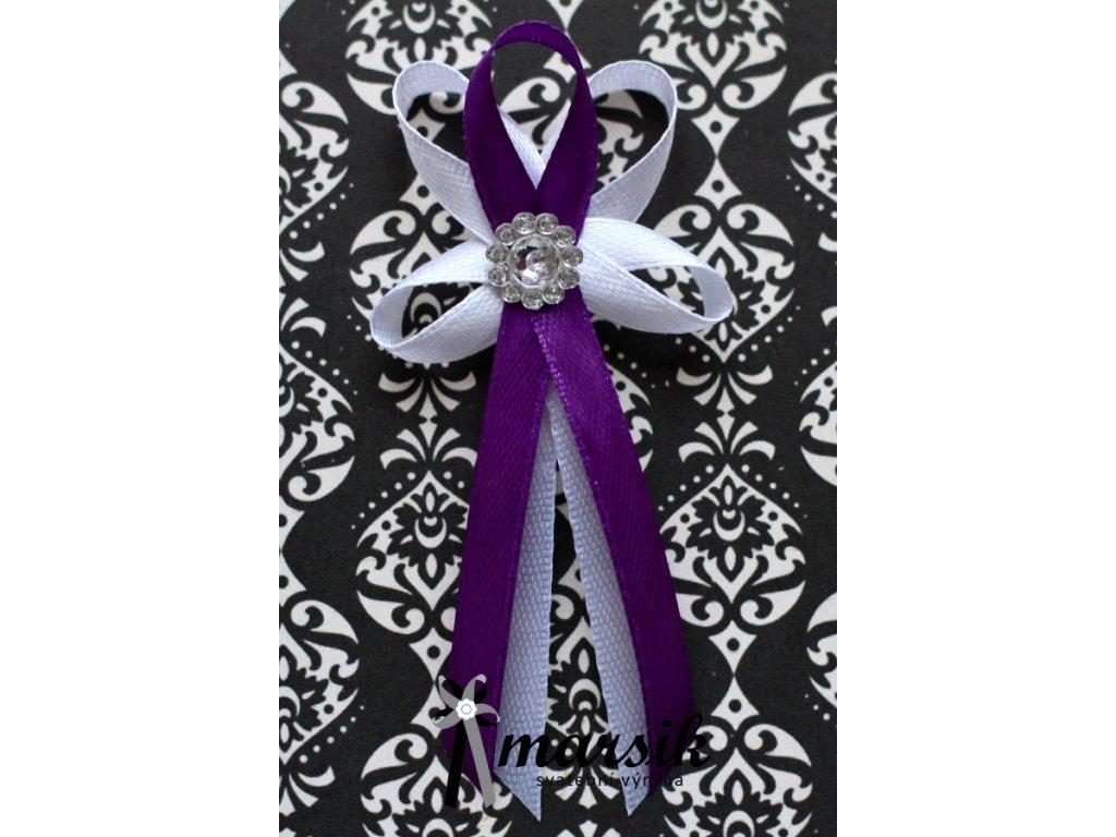 Vývazek violet Zoe