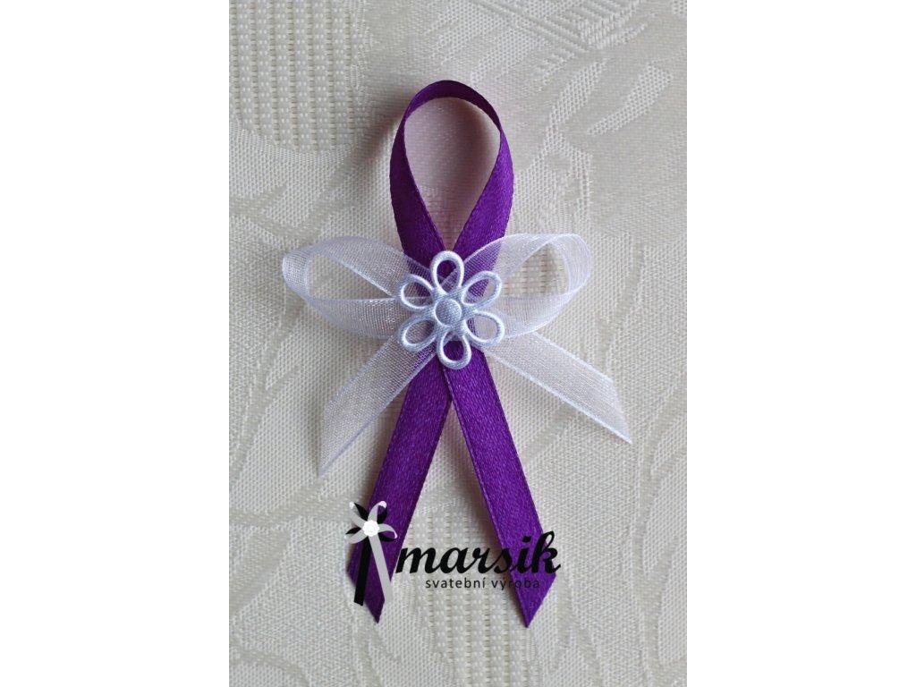 Vývazek violet Emma