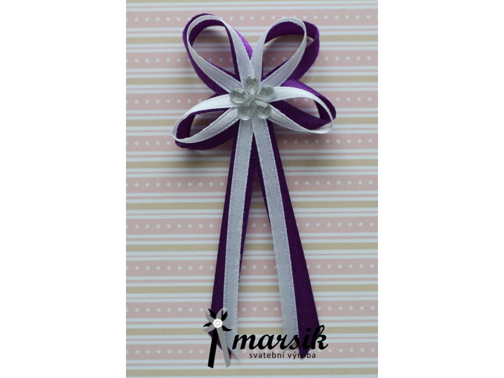Vývazek violet Becca