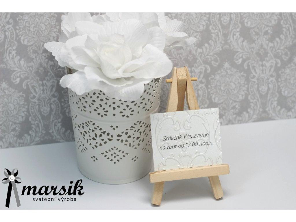 Pozvánka na raut bordo floral