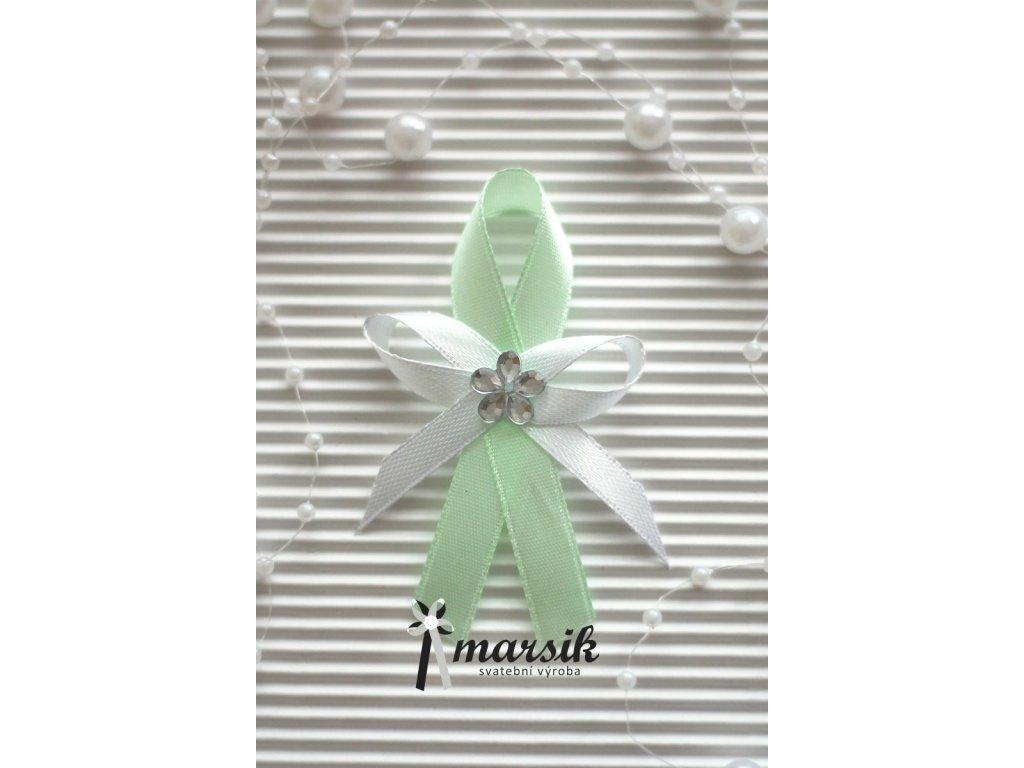 Vývazek light green Emma