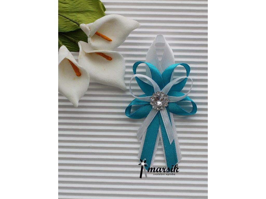 Vývazek turquoise Nicole