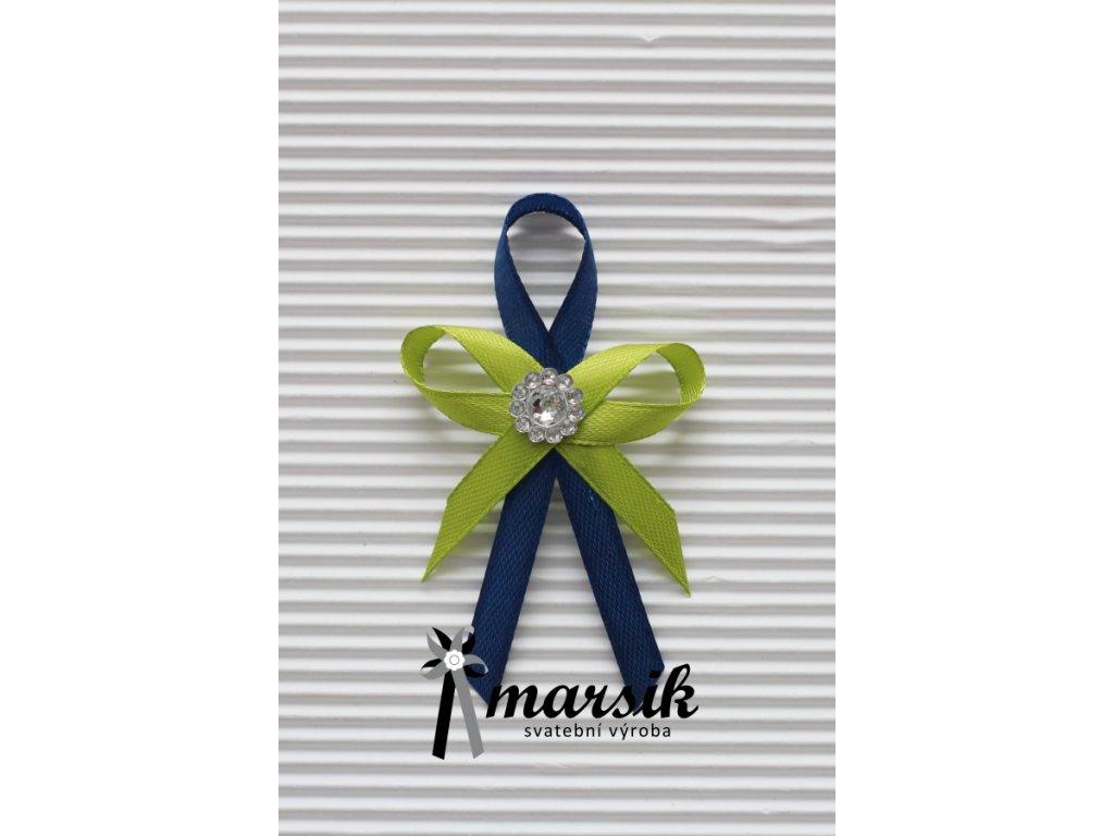 Vývazek green royal blue Celeste