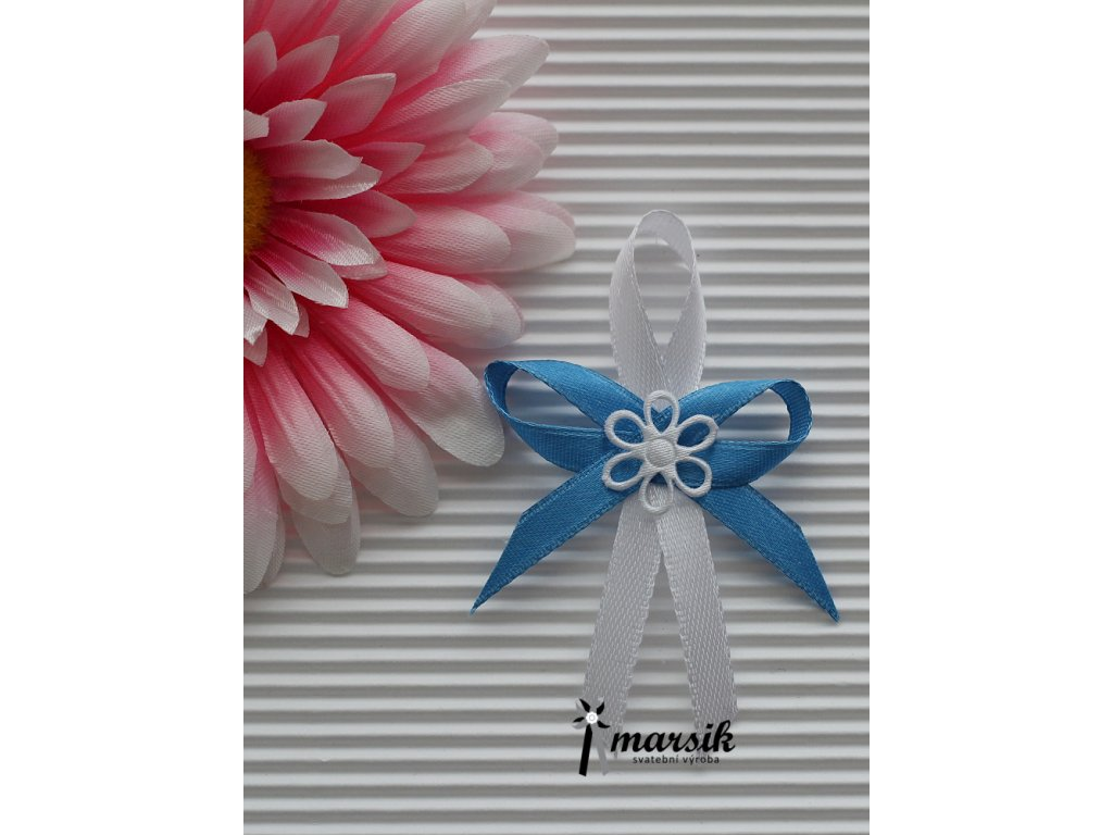 Vývazek navy blue Emma