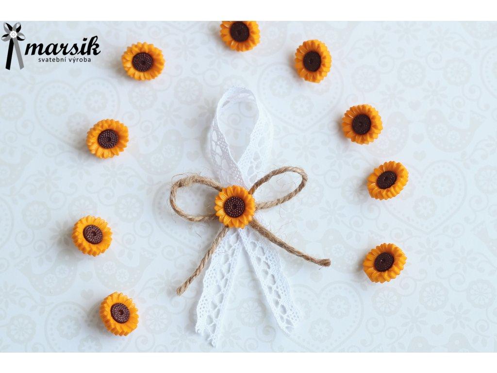 Vývazek lace sunflower