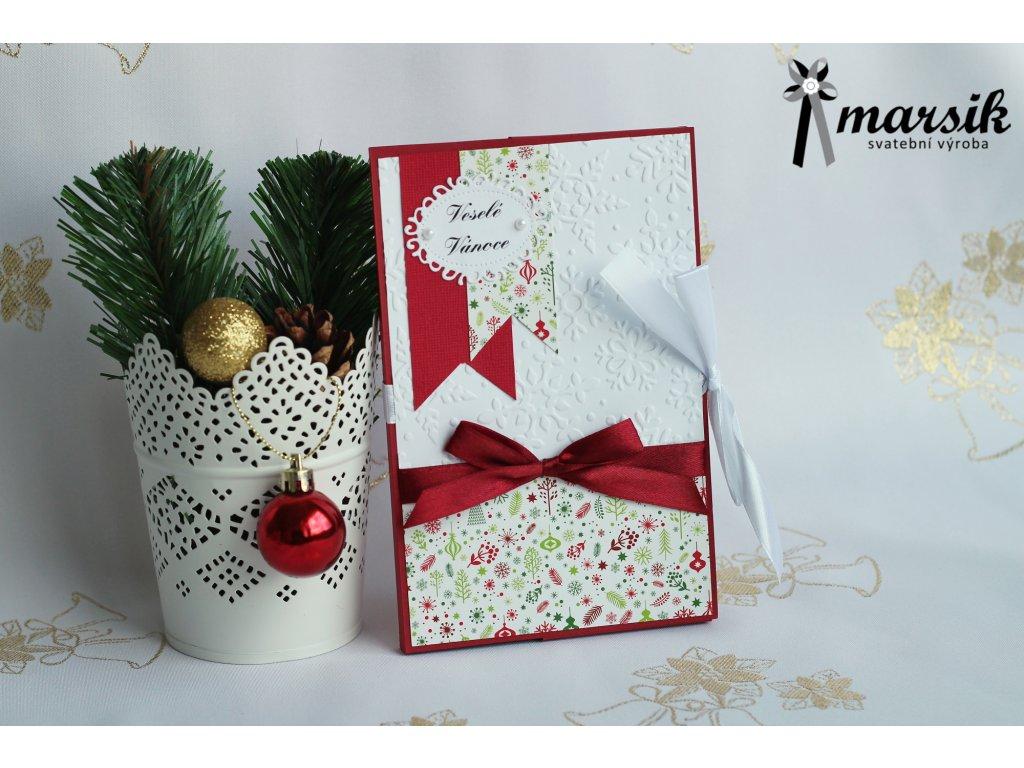 Krabička na foto veselé Vánoce