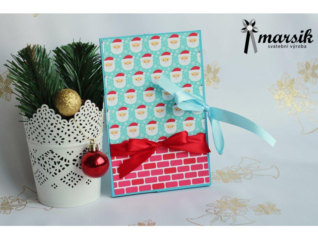 Krabička na foto Santa Claus