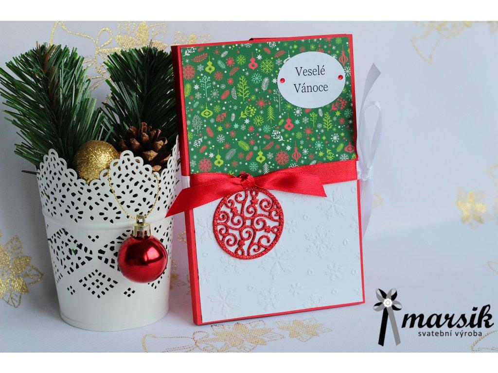 Krabička na foto veselé Vánoce I.