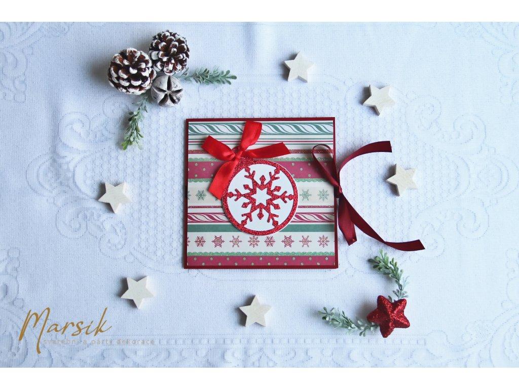 Obal na cd vánoční ozdoba