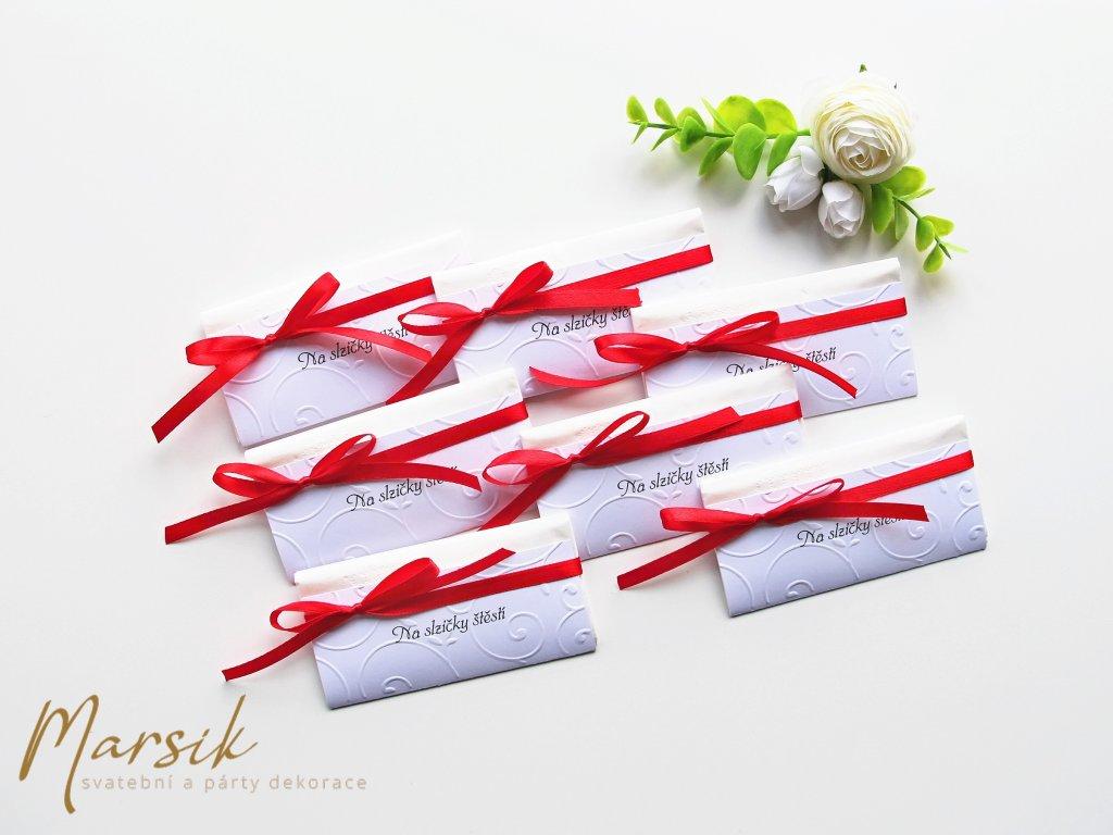 Svatební kapesníček RED