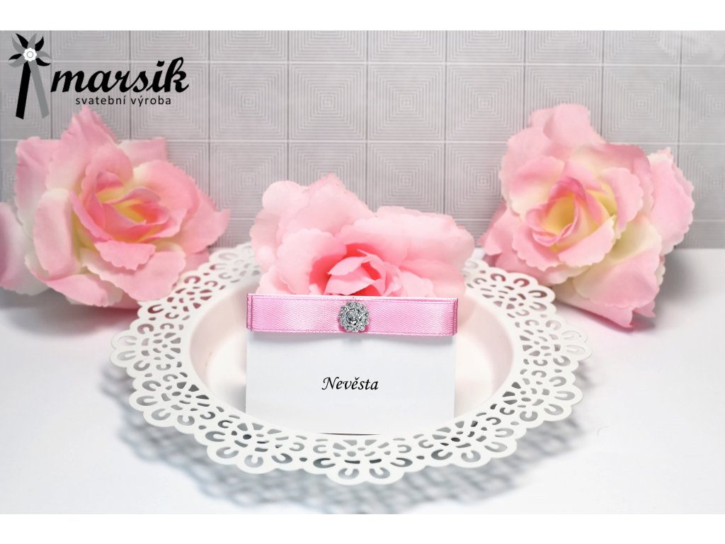 Jmenovka pink