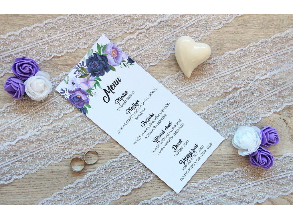 Svatební menu SV104